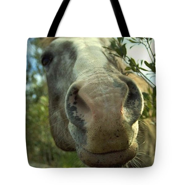 Old Gray Mare Tote Bag by Patricia Greer