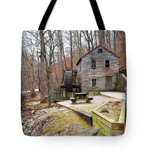 Tote Bag featuring the photograph Old Grist Mill by Paul Mashburn