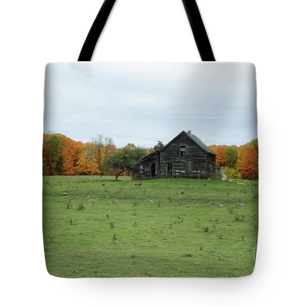 Old Homestead Tote Bag by David Murray
