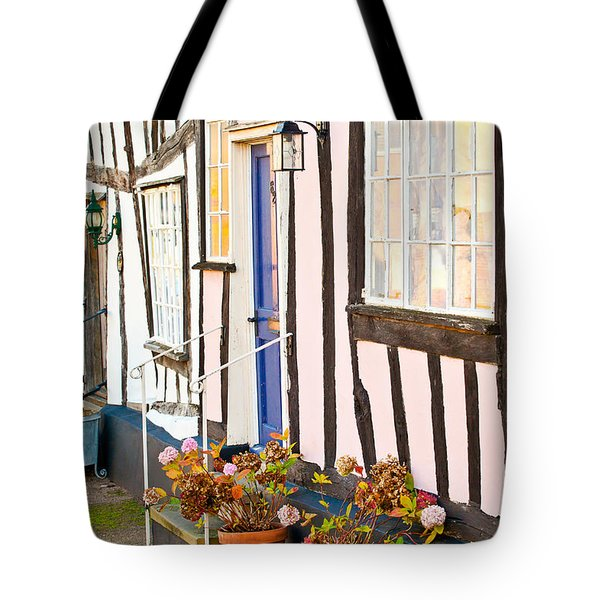 Old Houses Tote Bag by Tom Gowanlock