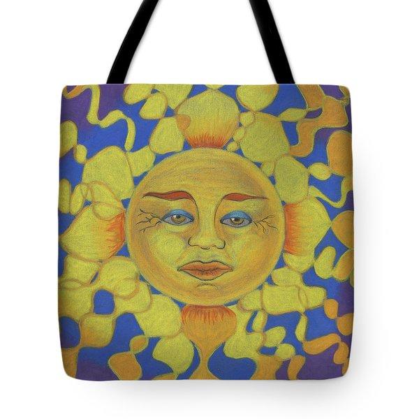 Old Man Sun Tote Bag