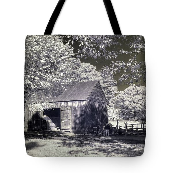 Old Mill Tote Bag by Joann Vitali