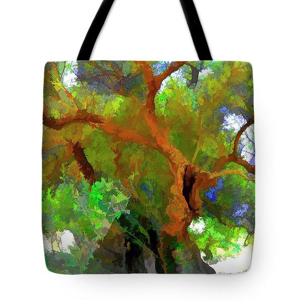 Old Olive Tree 03 Tote Bag