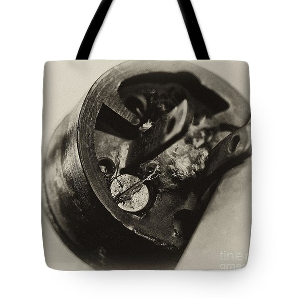 Old Plug  Tote Bag