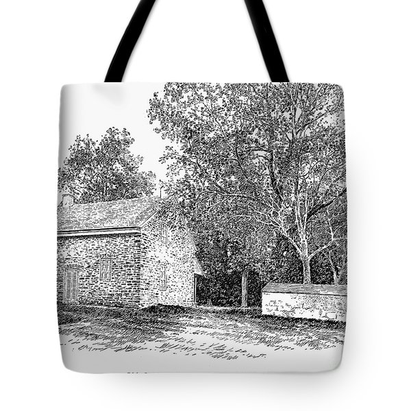 Old Quaker Meeting House Tote Bag by Granger