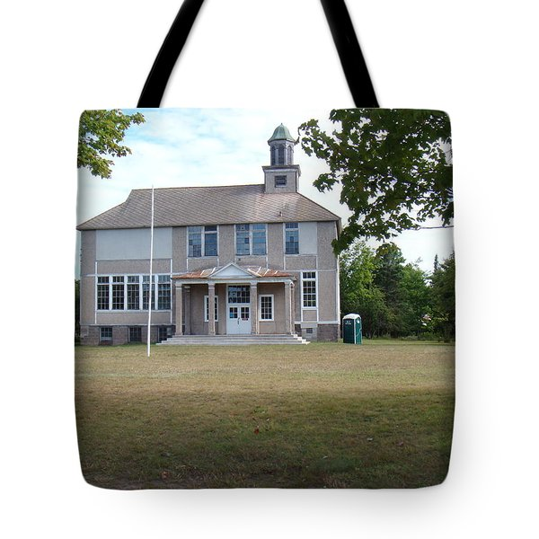Old School Tote Bag by Bonfire Photography
