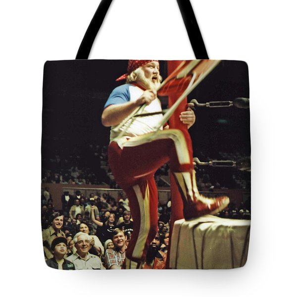 Old School Wrestling From The Cow Palace With Moondog Mayne Tote Bag