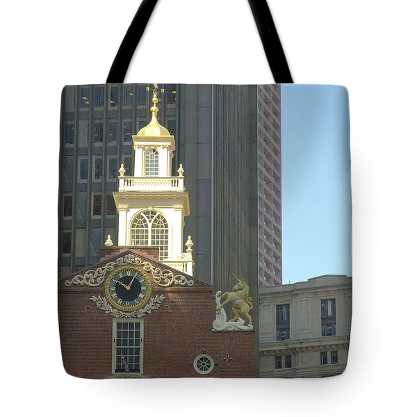 Old South Meeting House Tote Bag by Bruce Carpenter