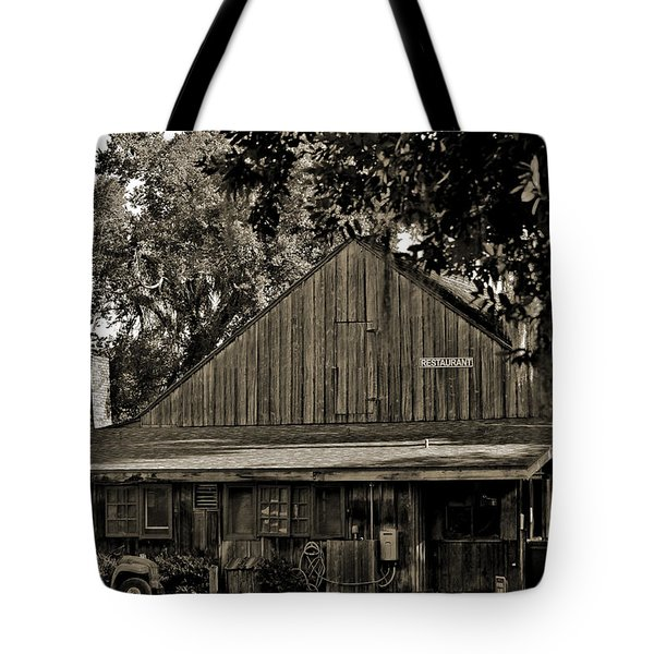 Tote Bag featuring the photograph Old Spanish Sugar Mill Old Photo by DigiArt Diaries by Vicky B Fuller