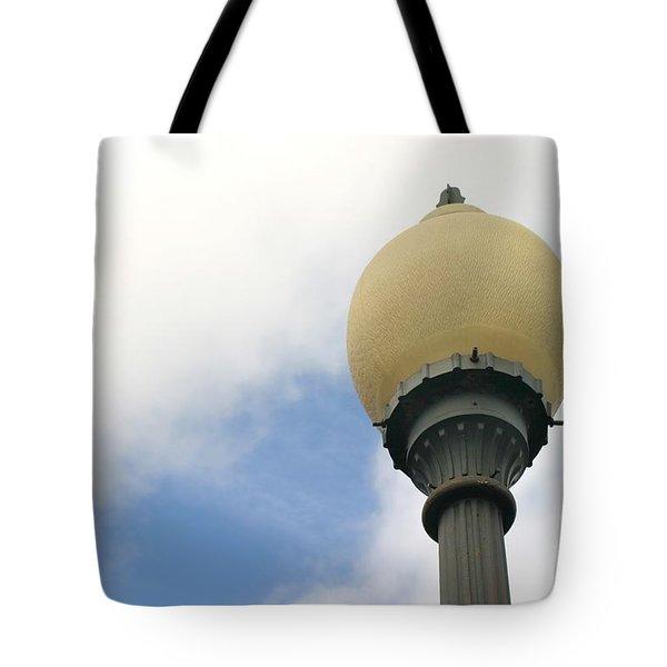 Old Street Light Tote Bag