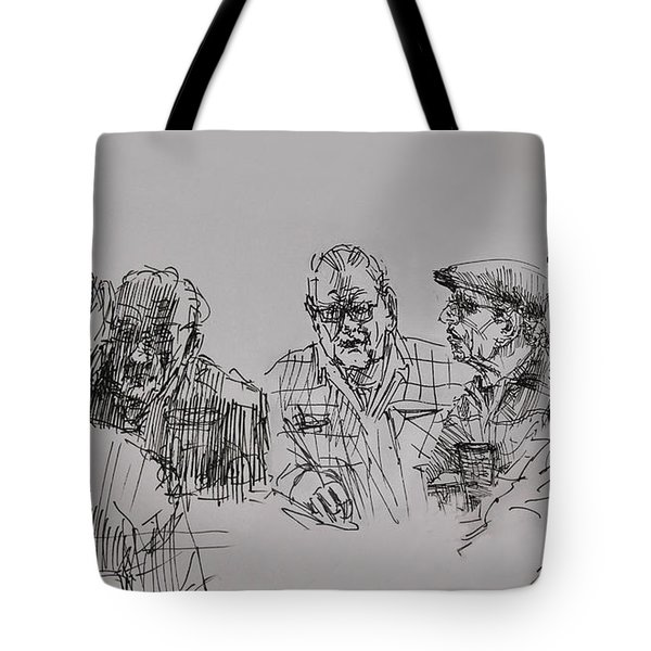 Old-timers  Tote Bag by Ylli Haruni