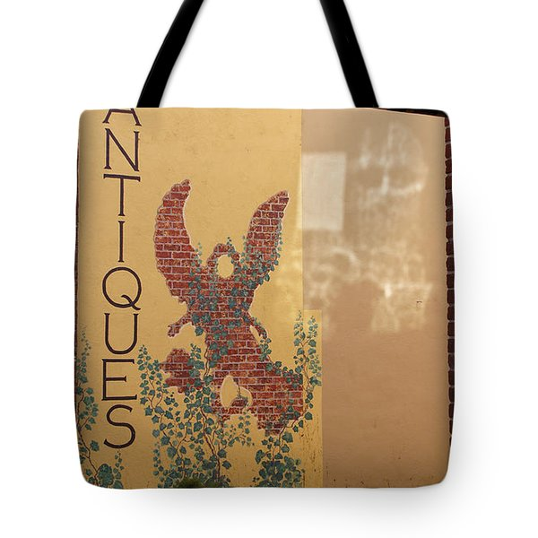 Old Town Grants Pass Detail Tote Bag by Mick Anderson