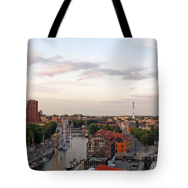 Old Town Klaipeda. Lithuania. Tote Bag
