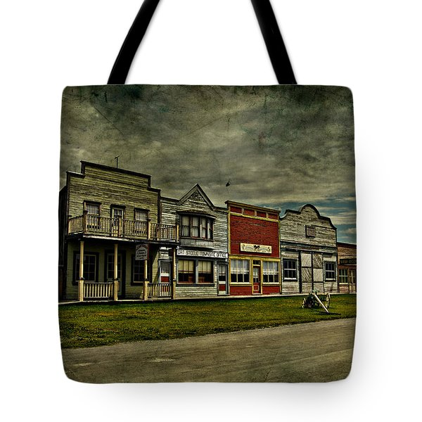 Old Town Witchit  Tote Bag by Empty Wall