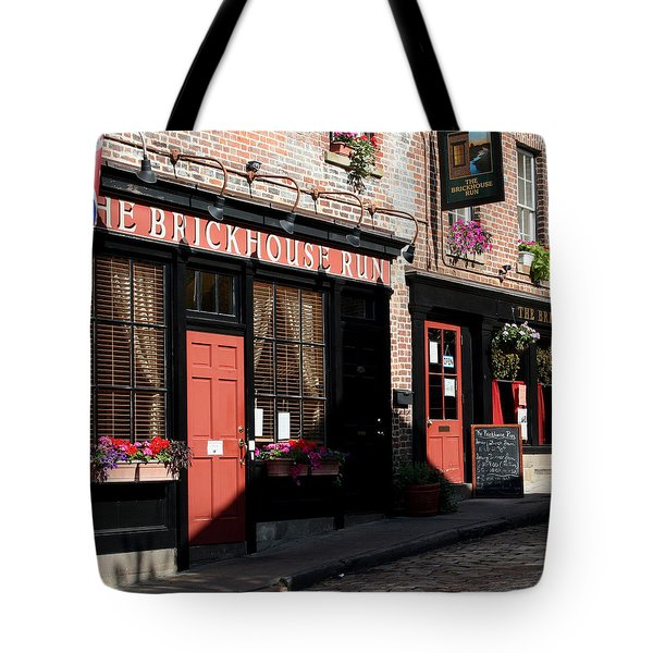 Old Towne Dining Tote Bag