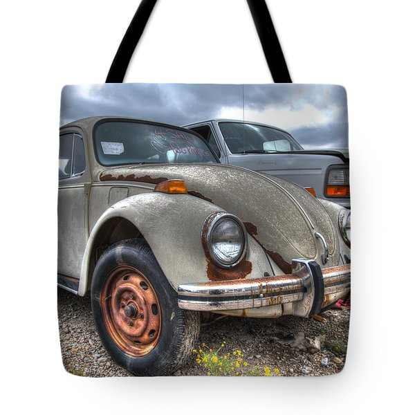 Old Vw Beetle Tote Bag by Jonathan Davison