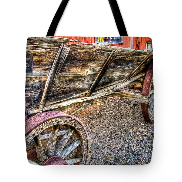 Old Wagon Tote Bag by Jon Berghoff