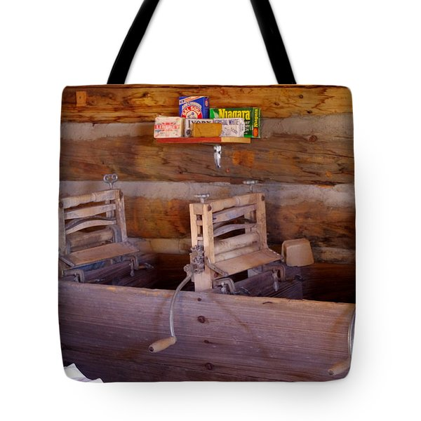 Tote Bag featuring the photograph Old West 2 by Deniece Platt