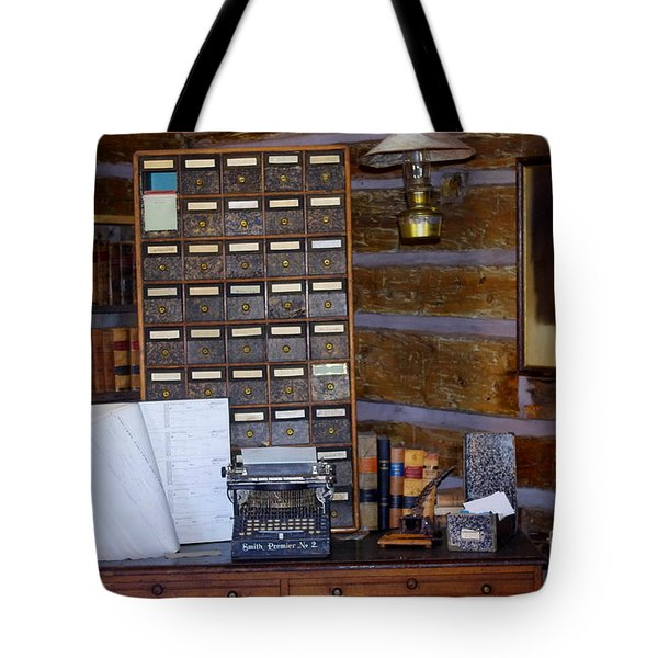 Tote Bag featuring the photograph Old West 3 by Deniece Platt