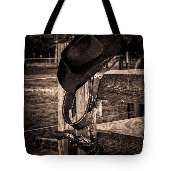 Old West Tote Bag by Doug Long