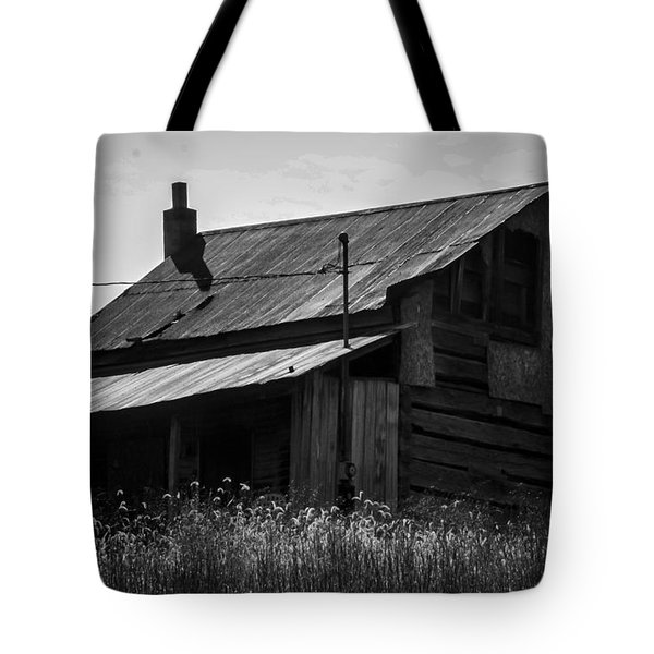 Old West Va Cabin Tote Bag