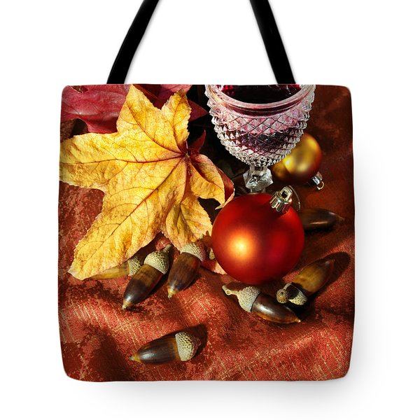 Old Wine Glass Tote Bag by Carlos Caetano