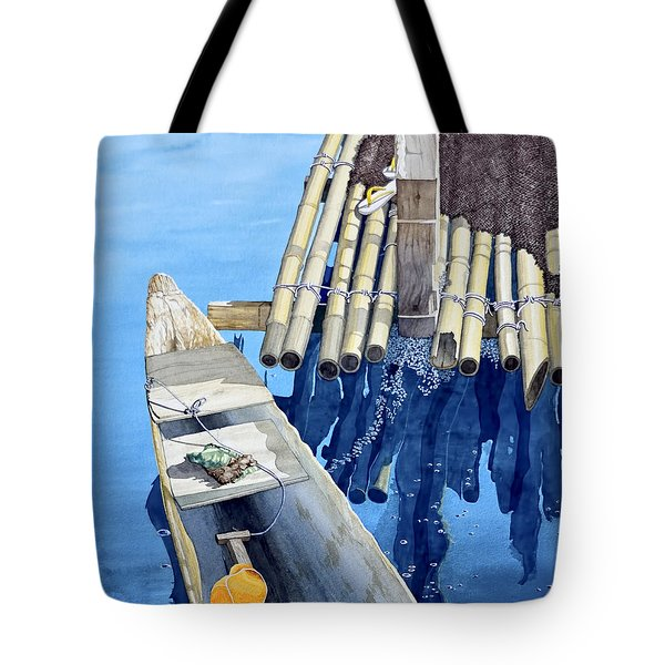 Old Wood Boat Tote Bag