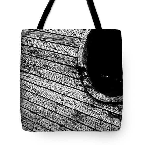 Old Wooden Boat Tote Bag