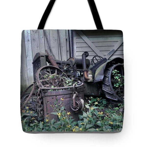Older Days Tote Bag by Janice Spivey