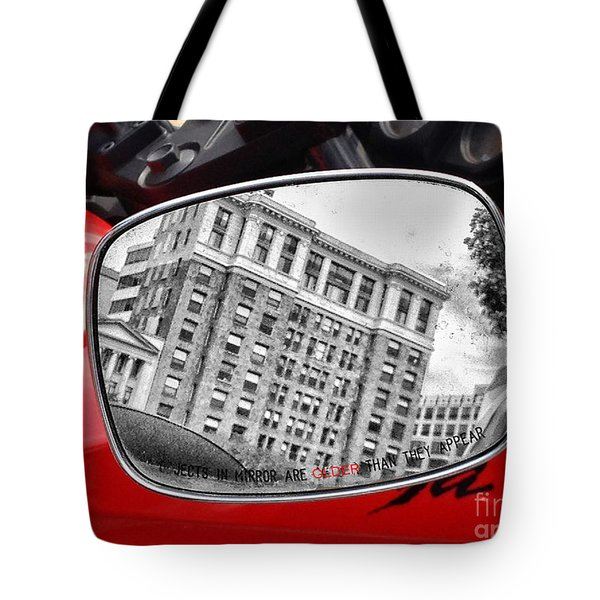 Older Than Appears Tote Bag by Jim Moore