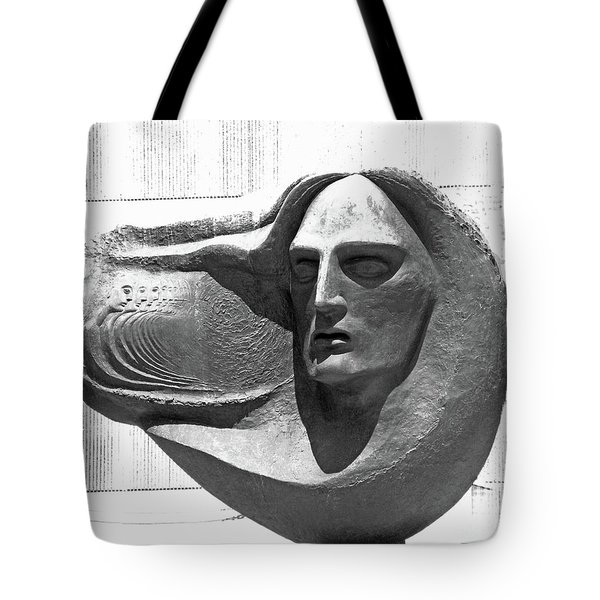 Oliver Pollock Statue  Tote Bag by Lizi Beard-Ward