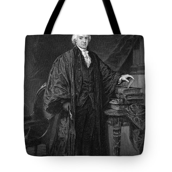 Olvier Ellsworth (1745-1807). Chief Justice Of The United States Supreme Court, 1796-1799. Steel Engraving, 1863 Tote Bag by Granger