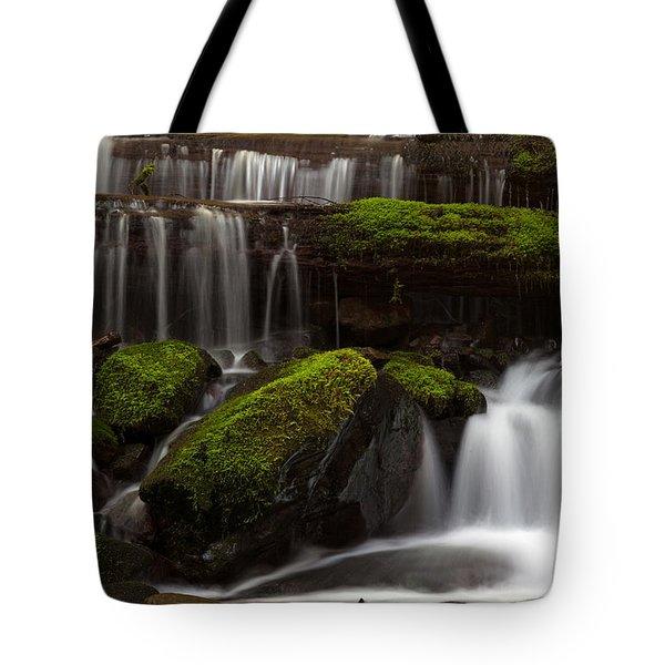 Olympics Gentle Stream Tote Bag by Mike Reid