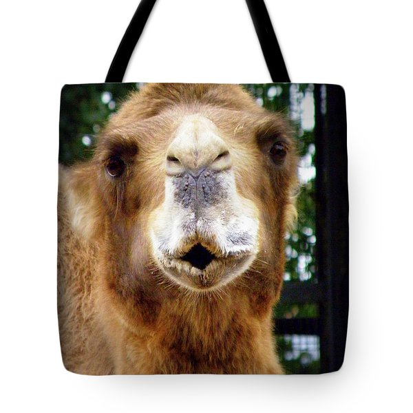 Omar The Camel Tote Bag by Lainie Wrightson