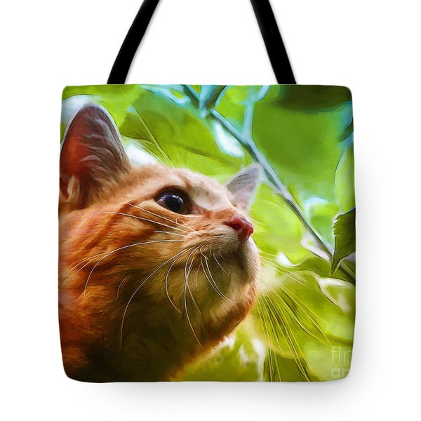 On A Discovery Tour Tote Bag by Jutta Maria Pusl