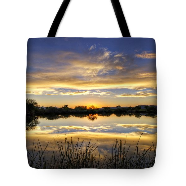 On Golden Shores  Tote Bag by Saija  Lehtonen