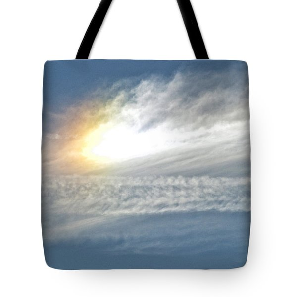 On High Tote Bag by Barbara Middleton