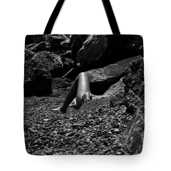 On The Beach Tote Bag by Michael Mogensen