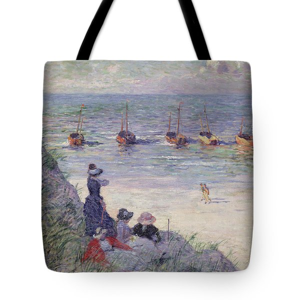 On The Dunes Tote Bag by Theo van Rysselberghe