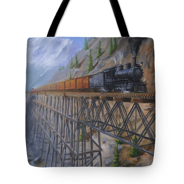 On The High Line Tote Bag by Christopher Jenkins
