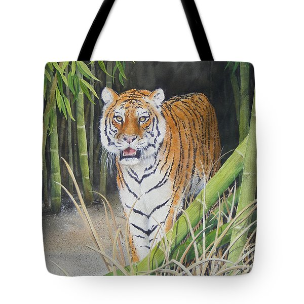 On The Prowl  Sold Prints Available Tote Bag