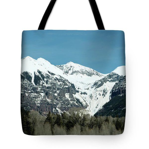 On The Road To Telluride Tote Bag
