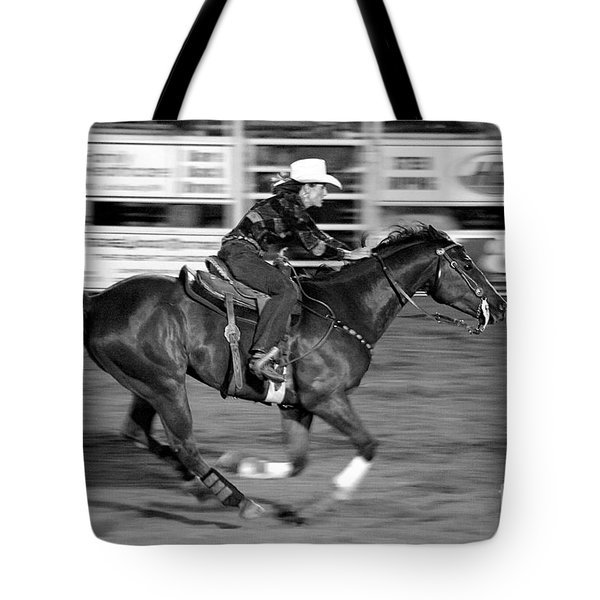 On The Run Tote Bag by Vicki Pelham
