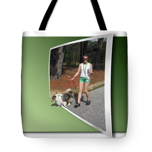 On The Trail Tote Bag by Brian Wallace