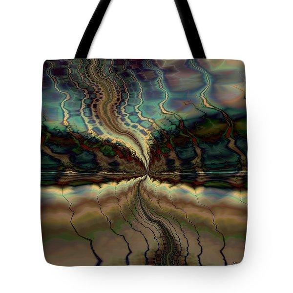 On The Way To Somewhere Tote Bag by Kim Redd