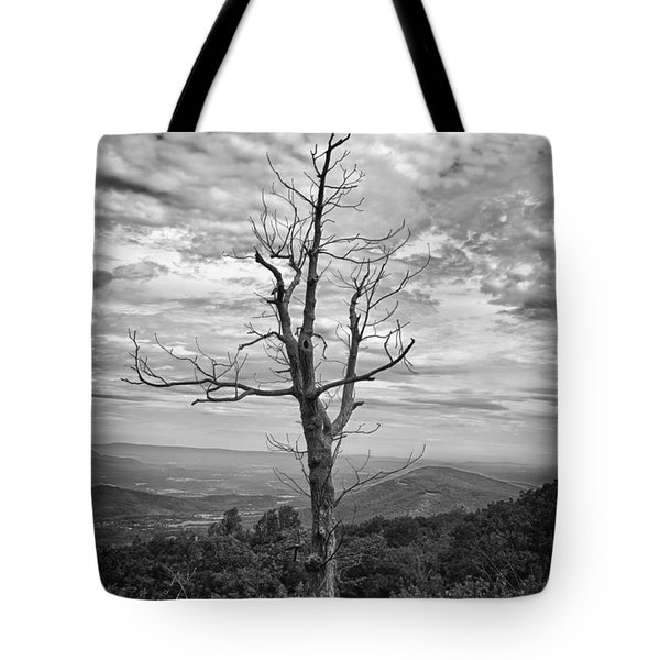 On Top Of The World Tote Bag by Guy Whiteley