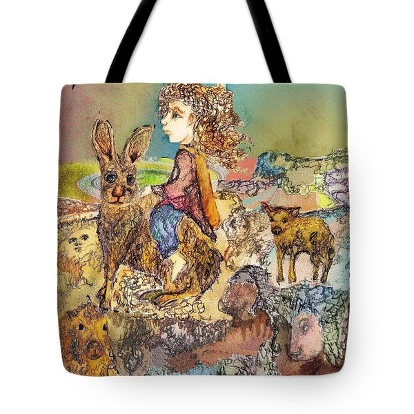 Once I Knew My Name  Tote Bag by Cynthia  Richards
