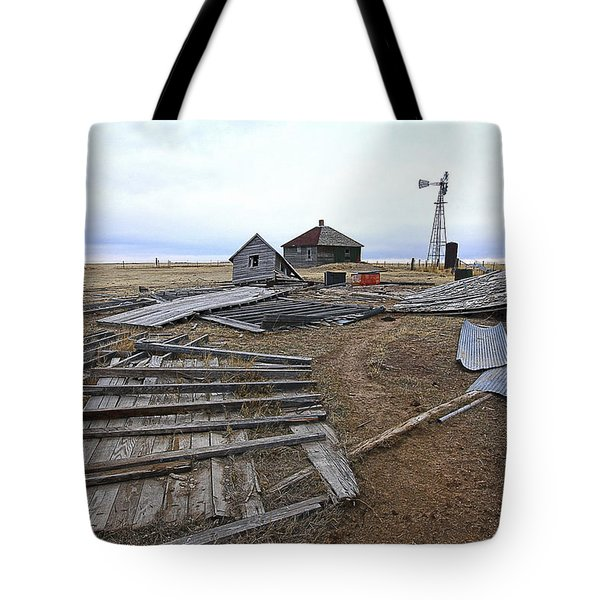 Once There Was A Farm Tote Bag by James Steele