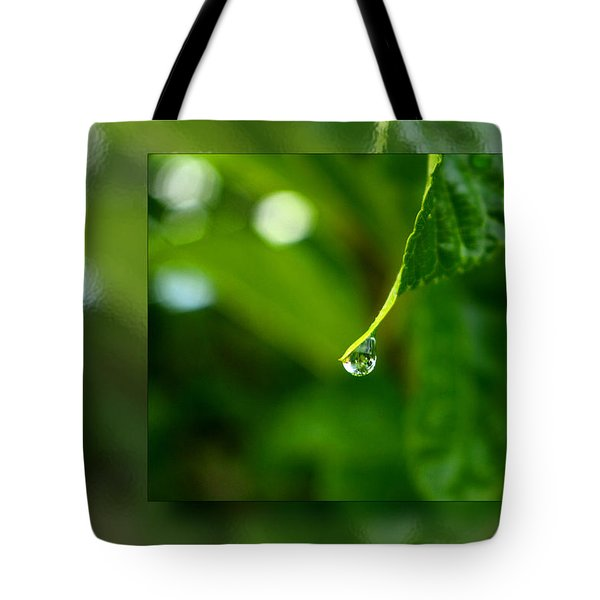 One Drop In The Bigger Picture Tote Bag