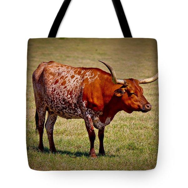 One Lone Longhorn Tote Bag by Doug Long